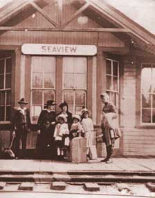 Seaview train depot