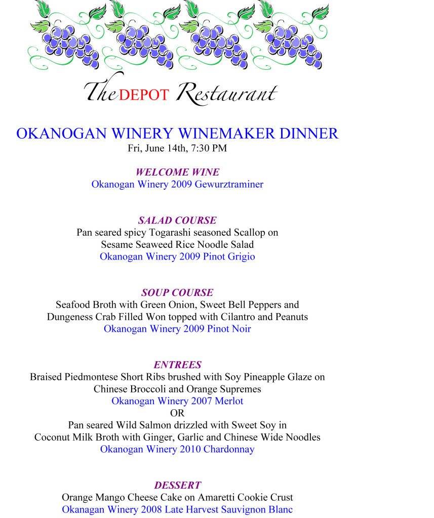 Microsoft Word - Okanogan Winemaker Dinner 5 13.doc