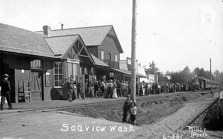Seaview WA Depot, circa 1910